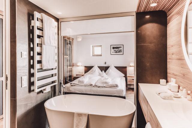 Badezimmer Hotel Goldener Berg