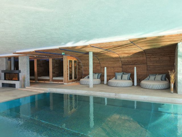 Entspannung Am Indoorpool Hotel Bergblick