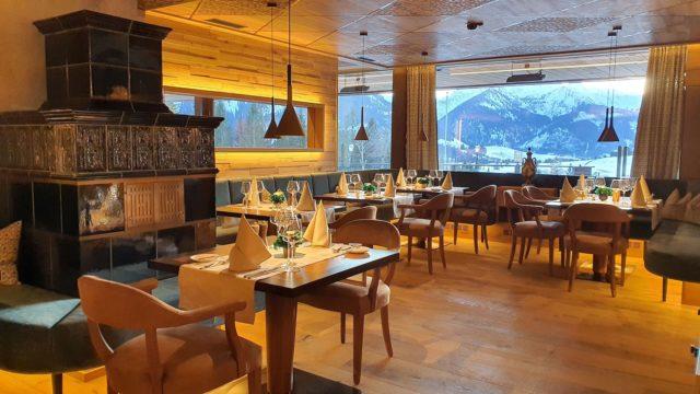 Gemuetliche Gourmetrestaurant Grunstube Hotel Bergblick