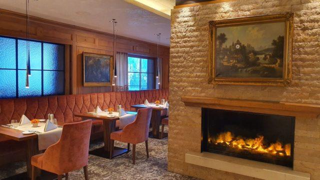 Gemuetliche Stimmung Im Restaurant Hotel Bergblick