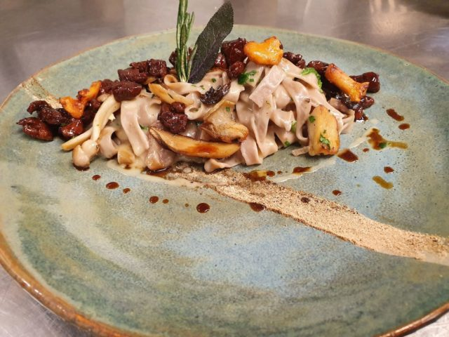 Kulinarische Kreation Von Philip Lochmann Hotel Bergblick