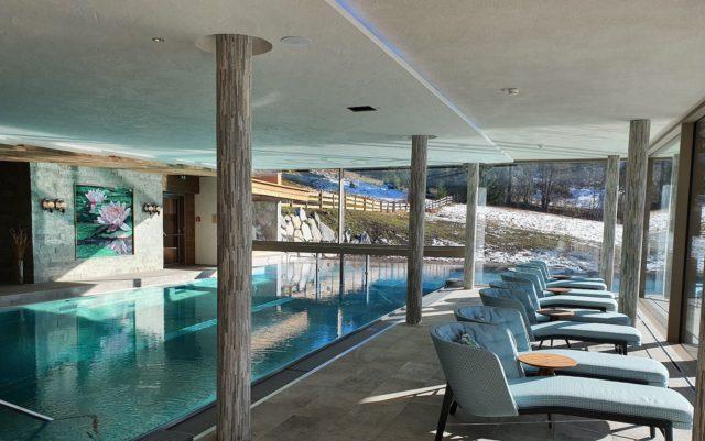 Relaxen Am Indoorpool Hotel Bergblick