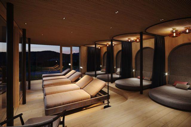Visualisierung Des Exklusiven Panorama Ruheraums Bio Hotel Oswalda Hus Kleinwalsertal Hotels 0