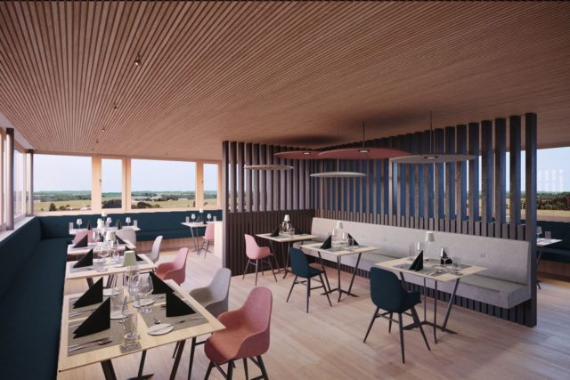 Visualisierung Des Modernen Restaurantbereichs Bio Hotel Oswalda Hus Kleinwalsertal Hotels 0