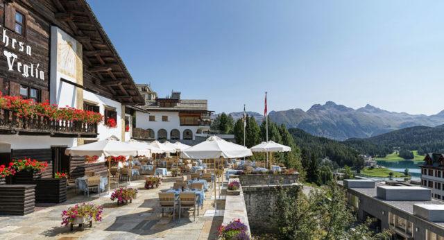 BPH Chesa Veglia Terrasse (c) Badrutt's Palace Hotel