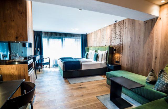 Ansicht Des Superior Zimmer C Dejori Werner Hotel Granbaita Dolomites