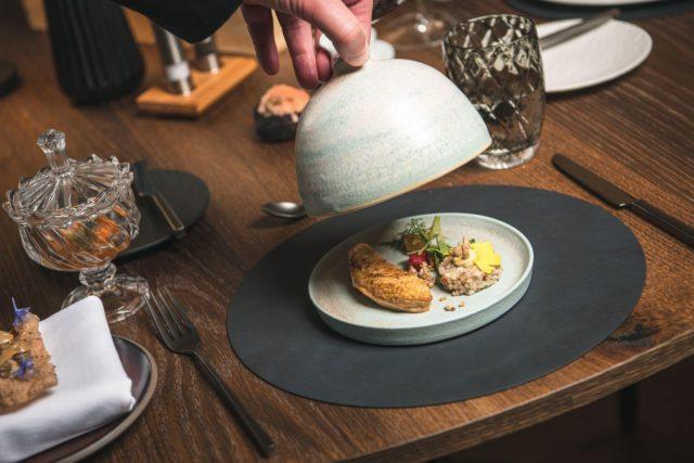 Delikater Cleopatra Salad Hotel Granbaita Dolomites