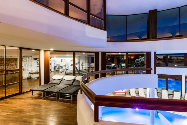 Fitnessbereich Hotel Granbaita Dolomites