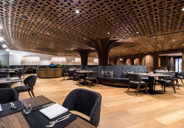 Geraeumiger Eleganter Essbereich Hotel Granbaita Dolomites