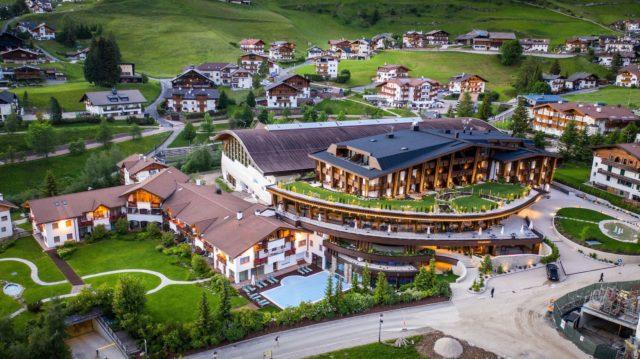 Hotelansicht Von Oben Hotel Granbaita Dolomites