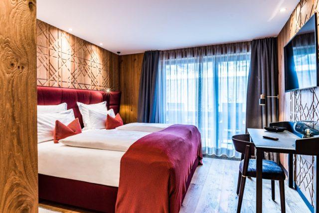 Komfortable Einrichtung Der Junior Suite C Dejori Werner Hotel Granbaita Dolomites