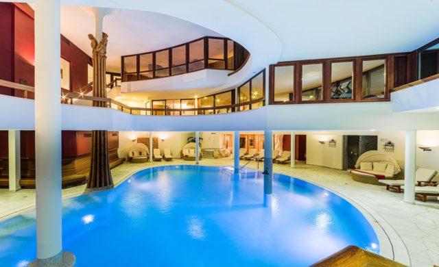 Moderner Indoorpool C Dejori Werner Hotel Granbaita Dolomites